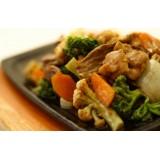 Carne com legumes (prato grande)